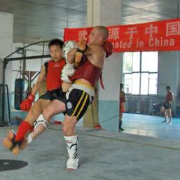 Martijn Luijten Sanda Training in Beijing