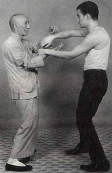 Bruce Lee en zijn leraar Ip Man