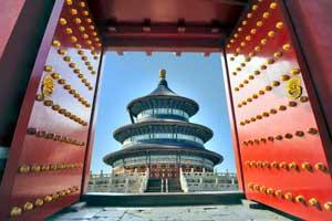 Wing Chun Tempel deur