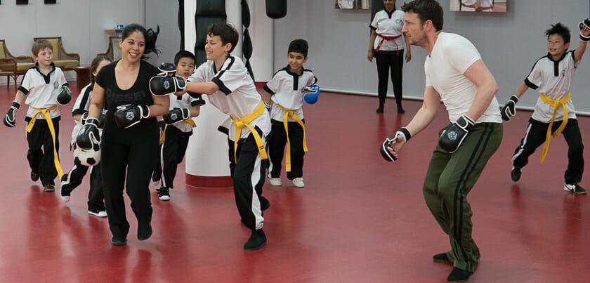 Wing Chun voor Kinderen. Ouders kunnen ook mee doen.